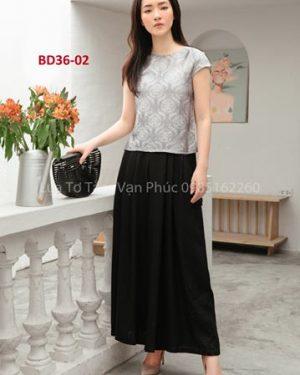 bộ đồ lụa tơ tằm Bd36-02