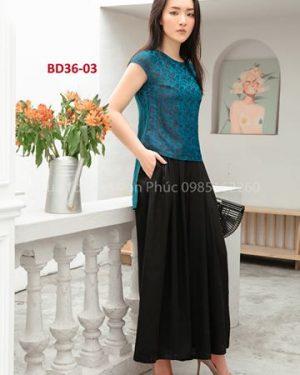 bộ đồ lụa tơ tằm Bd36-03